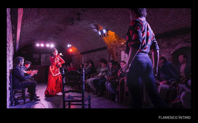Flamenco Intimo Show in der Cueva, Sevilla