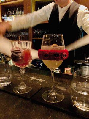 Richtig gute Cocktails mixt die Chedi Bar, Andermatt