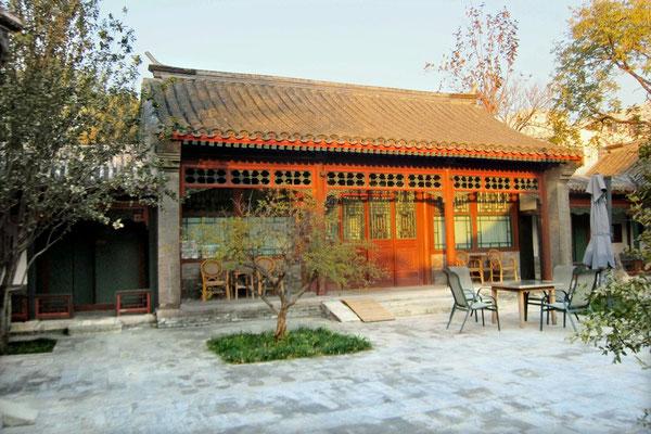 Innenhof im Courtyard 7 Peking