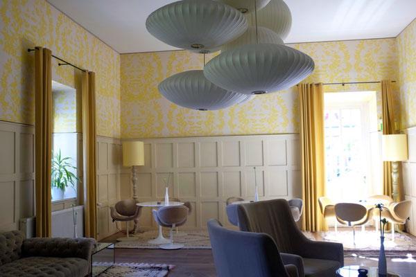 Kranzbach Gelber Salon zur Teatime