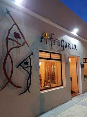 Afrigonia Restaurant Puerto Natales, afrikanisch-patagonische Fusion-Küche
