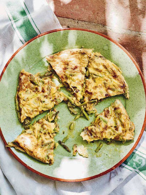 Wilder Spargel-Tortilla José Pizarro Andalusien: Das Kochbuch