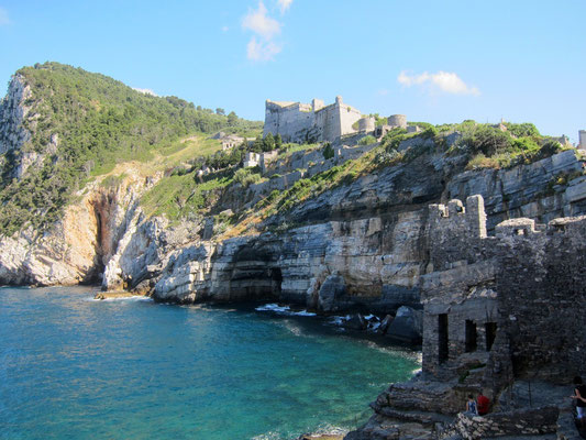 Küstenwanderung ab dem Castello Portovenere, Ligurien