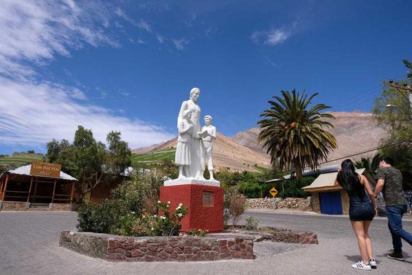 Monte Grande Monument Gabriela Mistral