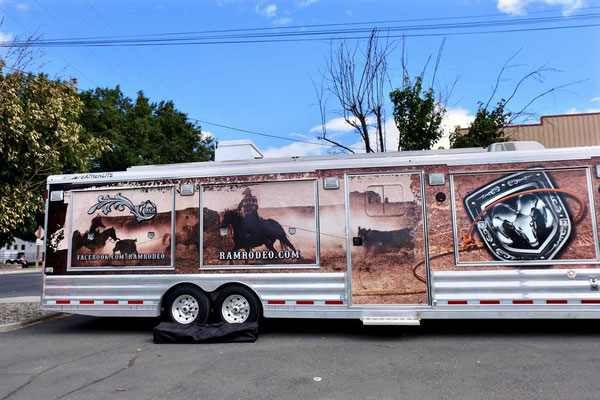 Rodeo Profi Trailer in Pendleton