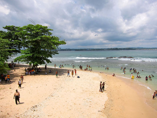 Lighthouse Beach  Galle Sri Lanka