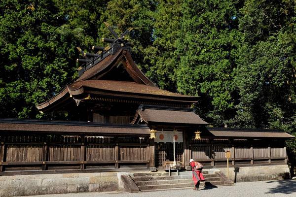 Wohl der schönste Schrein ist der Kumano Hongu Taisha