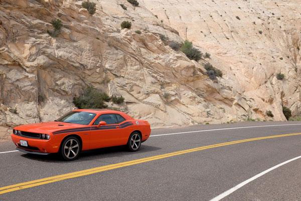 Mit dem Mustang über die Utah Scenic Road 12
