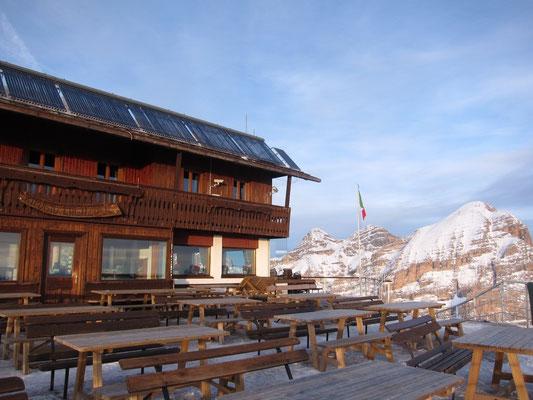 Berghütte Rifugio Lagazuoi, Dolomiten Südtirol