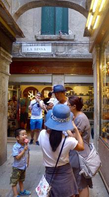 SUSO bestes Eiscafe in Venedig