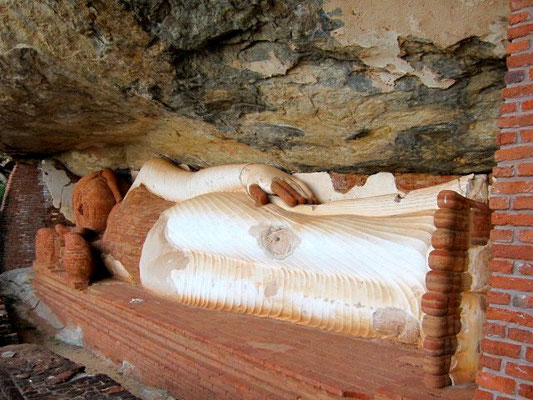 Wanderung zum Temple Rock Pidurangala bei Sigiriya, Sri Lanka