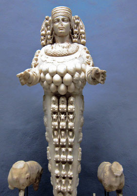 Artemis Statue im Archäologischen  Museum  Selcuk