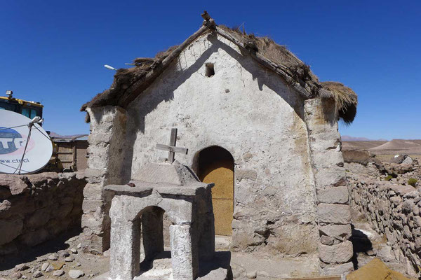 Altiplano-Dorf