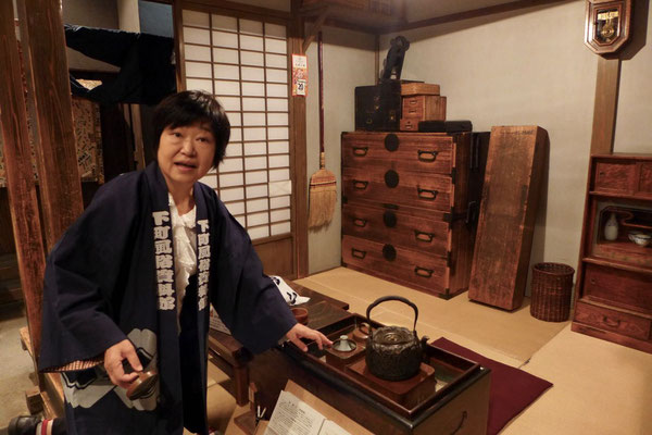 Alltagskultur der Edo-Zeit im Shitamachi Museum Tokio