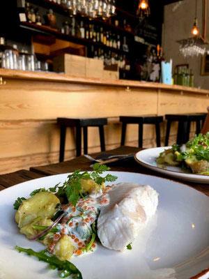 Fisch-Lunch Restaurant KNUT Stockholm Norrmalm