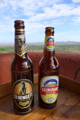 Kilimanjaro und Serengeti Bier aus Tanzania