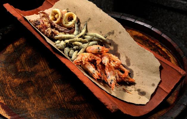 Gut Essen naher der Stadtmauern in Split. Foto: www.konobamatejuska.hr/
