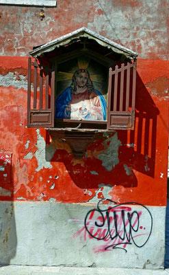Madonna Venedigs Stadtteil Castello