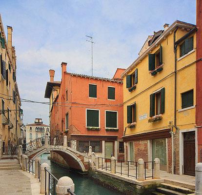 Hotel Locanda Cà Zose Venedig, das gelbe Haus