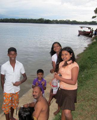 Sunday at Tissa Wewa lake Sri Lanka