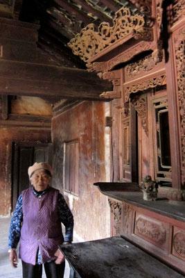 Führung durchs Ouyang House in Shaxi