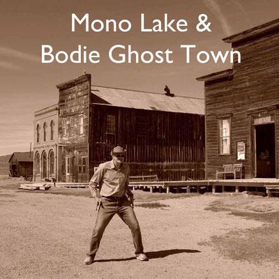 USA Südwesten Bodie Town Mono Lake