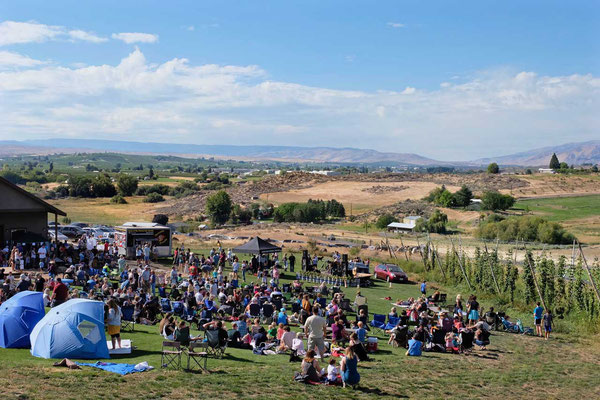 Stimmungsvolles Familienfest im Yakima Valley, Cowiche Creek Brewing