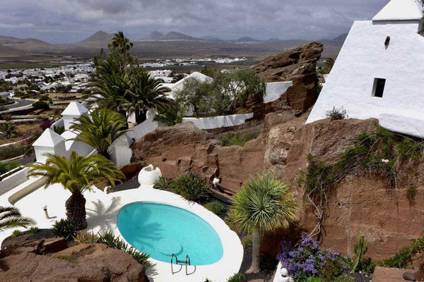 Ausblick Villa Omar Sharif LagOmar Lanzarote
