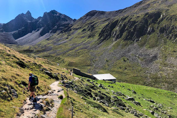 Wanderung von Muottas Muragl bei St. Moritz, Oberengadin