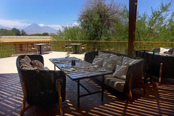 Restaurant-Terrasse, explora Atacama