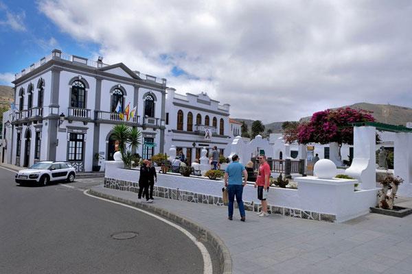 Harias schmucker Stadtplatz, Lanzarote