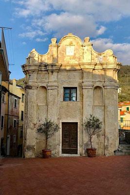 Kirche in Tellaro, Ligurien