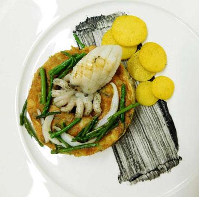 Kreative Fischküche, I Restaurant Toni Umag Istrien