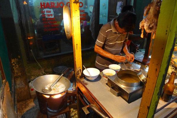 Streed Food in Yogyakarta