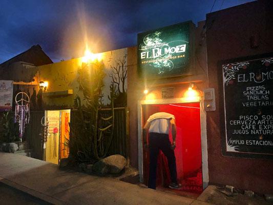 Bar El Rumor in Pisco Elqui