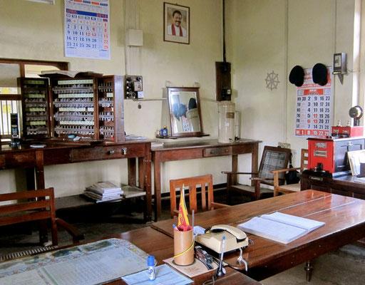Office im Bahnhof Haputale
