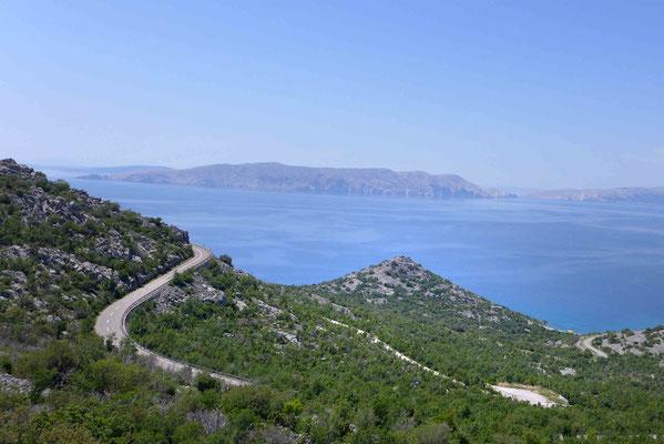 Adria-Magistrale bei Senj, Kroatien
