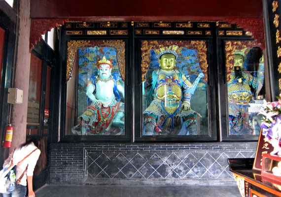 Himmelskönige, Wenshu Tempel in Chengdu