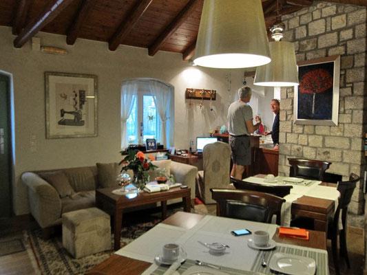Frühstücksraum Hotel Enastron, Dimitsana