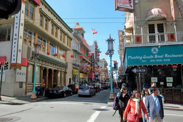 Chinatown San Grand Av., Francisco
