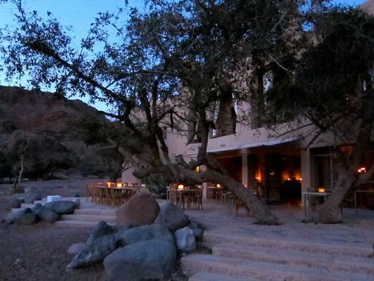 Abendstimmung Feynan Eco Lodge,  Jordanien
