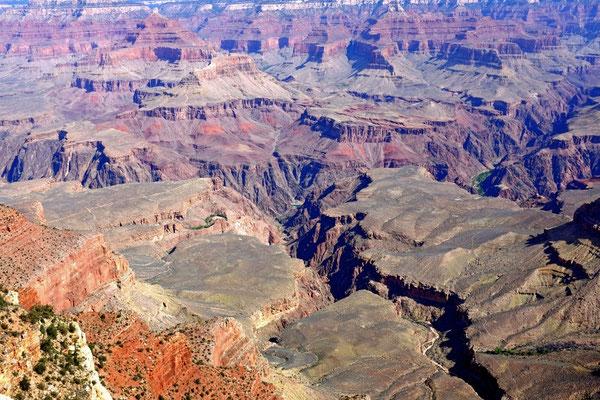 South Rim Trail Grand Canyon Aussichtspunkt