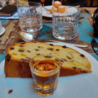 Dessert, Antica Osteria del Carugio, Portovenere Ligurien