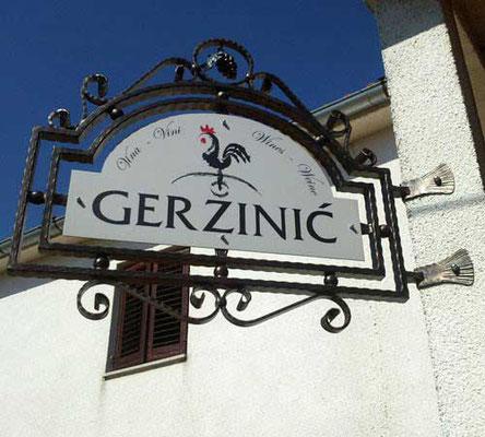 Weingut Geržinić in Vizinada, Istrien
