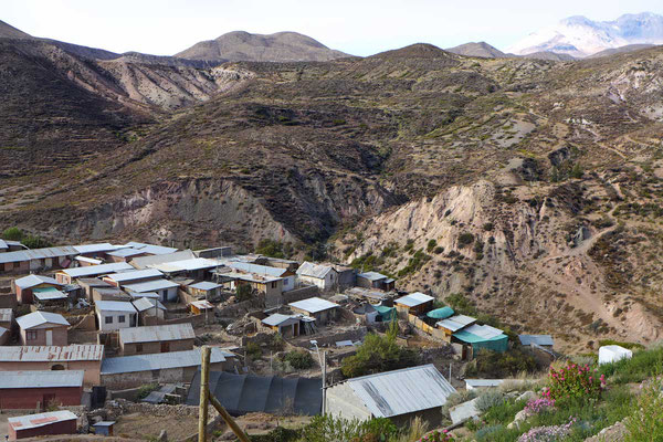 Dorf Socoroma bei Putre, Chile