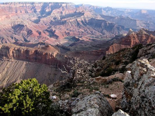 Sunrise Grand Canyon Viewpoints Desert View Drive