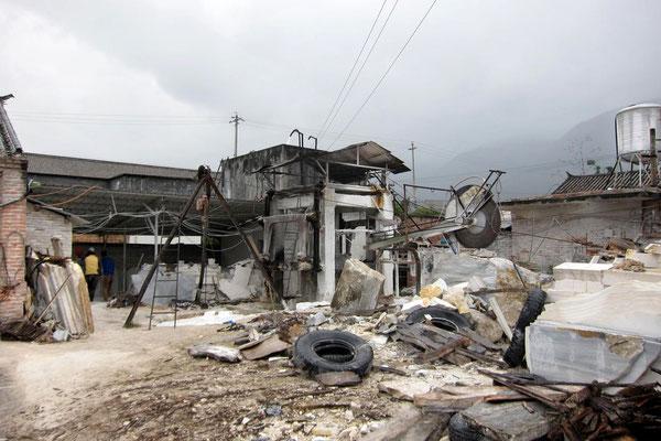 Marmorfabrik in Dali