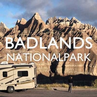 Badlands Nationalpark USA Reiseblog