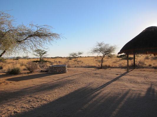 Campsite Solitaire Guest Farm Desert Ranch, Namibia