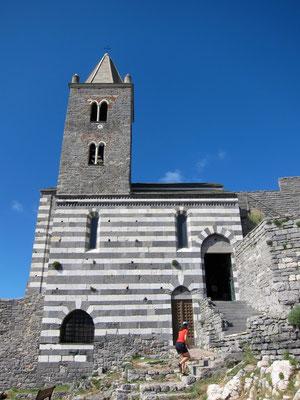 Kirche San Pietro Portovenere, Ligurien